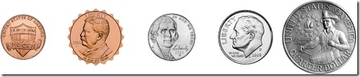 New US coin comparison